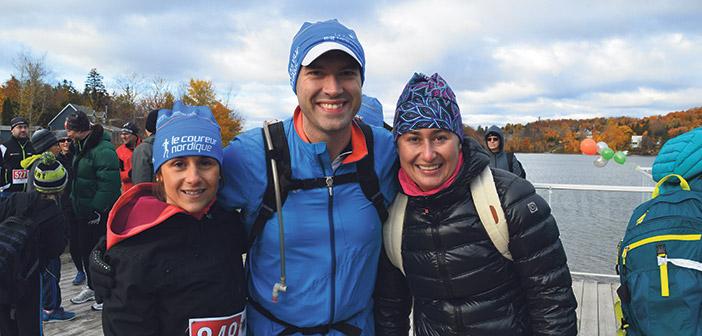 Christine Ferrandiz, Jean-Philippe Racine et Karine Ferland.