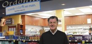 Normand Laroche, pharmacien propriétaire affilié à Brunet. Photo : Amélie Légaré