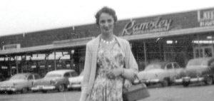 Georgette Durand, épouse de Candide Villeneuve, qui participait à la réussite de l'entreprise. Photo : courtoisie