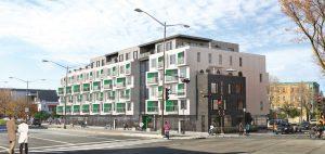 Une architecture dynamique caractérise le projet. Photo : Synchro Immobilier