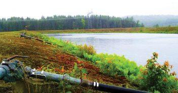 L'usine de traitement des eaux de Stoneham sera modernisée. Photo : Édouard Dufour