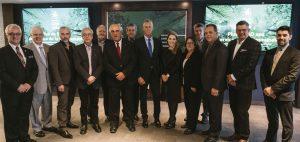 De nombreux partenaires étaient présents pour lancer la campagne. Photo : Renaud Philippe