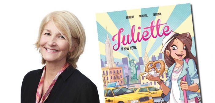 Une bande dessinée et un neuvième roman pour la série Juliette