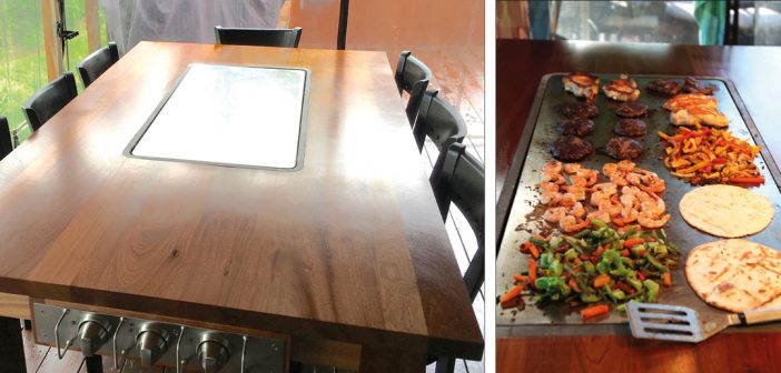La table-raclette pour des soupers sans pareil